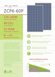 Popular Used / Polycrystalline Solar Module 240W pictures & photos