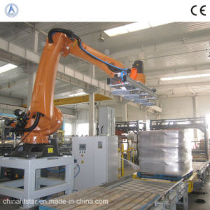 Automatic Robot Stacking Machine for The Filling Line