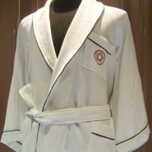 Waffle Hotel Bathrobe with Embroidery Logo