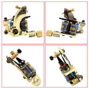 Brass Tattoo Machine (F17)