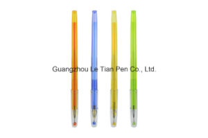 Cute Plastic Gel Pen with Cap Factory Manufacturer Lt-L450 pictures & photos