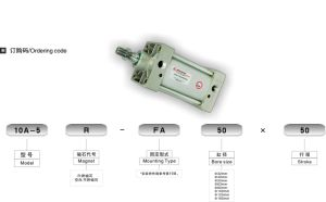 10A-5 Series Standard Type Air Cylinder (Double Acting)