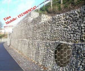 2mx1mx1m Hot-Dipped Galvanized Gabion Box/Stone Gabion Box (XM-6) pictures & photos