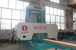 Electric Motor Wood Band Saw Machine for Fresh Log Cutting pictures & photos