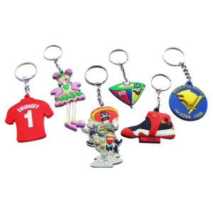 Factory Supply Various Design Customized Soft PVC Keychain pictures & photos
