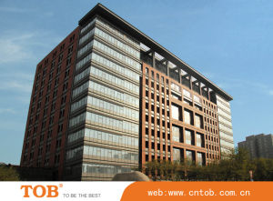 Stripy Surface Terracotta Cladding with 18mm Thickness, Measures 1, 200 X 300mm, Terracotta Facade System