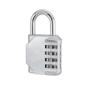 Zinc Alloy 4 Dials Combination Hardware Key Lock Heavy Duty pictures & photos