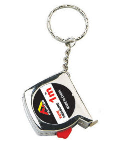 Mini Promotional Steel Tape Measure with Key Ring pictures & photos