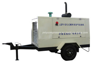 Air Cooled Portable Air Compressor pictures & photos