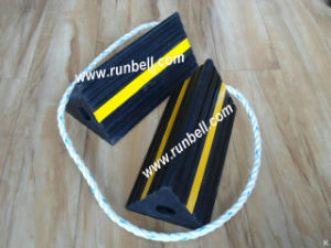 Rubber Aircraft Wheel Chocks for Airplane (TS010S)
