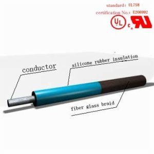 AWM3144 Fiberglass Braid Silicone Rubber Wire pictures & photos