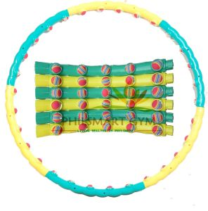 Massage Hula Hoop with Foam Ball pictures & photos