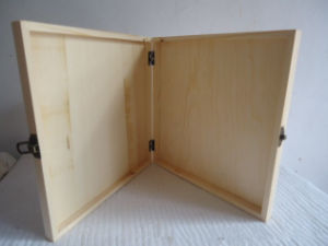 Flat Wooden Crate