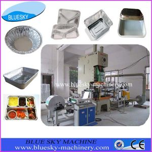 Aluminum Foil Fast Food Container Making Machine 45t/63t/80t