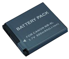 Digital Camera Battery/Camcorder Battery for Canon (NB-8L)