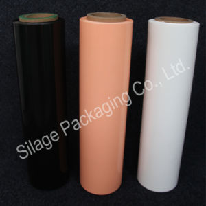 Colorful LLDPE Film, Silage Wrap Film, 500mm*25mic*1800m, Factory Manufacture Directly for Holland pictures & photos