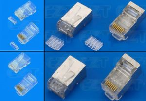 Rg45 Plug for Cat5e Cable pictures & photos