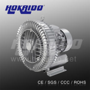 Hokaido Single Stage Three Phase Turbine High Pressure Blower (2HB 730 H16) pictures & photos