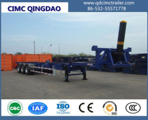 Cimc 40FT Cimc Dump Skeleton Chassis Semi Truck Trailer Chassis pictures & photos