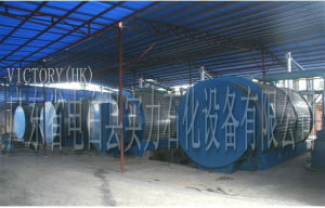 Oil Extraction Plant Using Waste Tyres