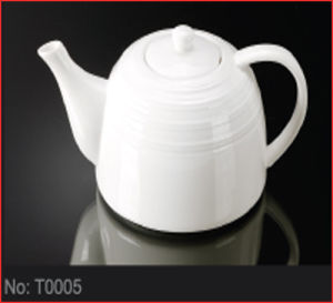Hotel & Restaurant Porcelain Tea Pot (T0005)