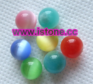 Cat′s Eye Beads Without Hole