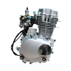 Motorcycle 100cc Vertical Engine Water Cooling with Single Cylinder