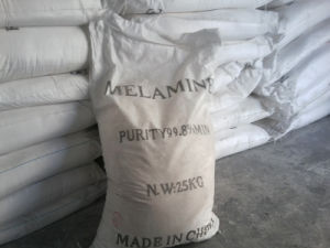 Melamine Powder (99.8%Min) for Melamine Dishes pictures & photos