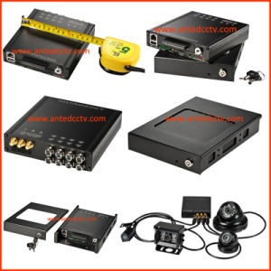 HD 1080P H. 264 Sdi 2tb 4G 3G 4/8CH Automobile CCTV DVR with GPS Tracking WiFi pictures & photos