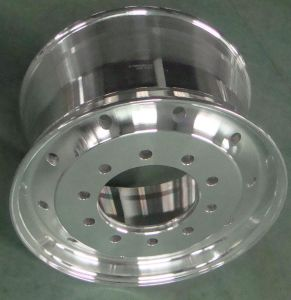 Polished Truck Aluminum Wheels 22.5X8.25