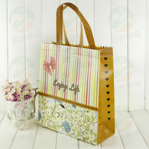 Auto-Formed Promitional Non Woven Advertising Bag (My-005) pictures & photos