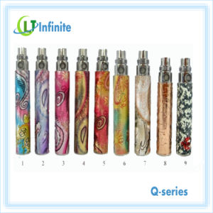 New Product for 2013 Electronic Cigarette Colorful Battery EGO Q