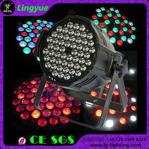 Stage Equipment 54X3w RGBW DJ Disco DMX Lighting LED PAR pictures & photos