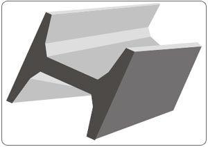 AISI 304 Stainless Steel I Beam/H Beam/ T-Beam S