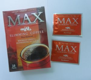Max Slimming Coffee, Pure Natural Korean Ginseng Ganoderma Extract pictures & photos