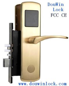High Security Intelligent RFID Card Hotel Lock pictures & photos