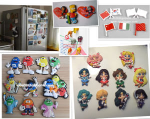 High Quality Personalized PVC Fridge Magnet Making Machine pictures & photos