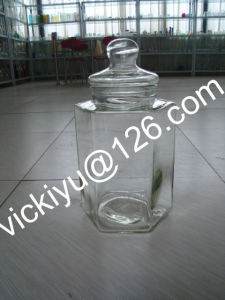 10L Large Glass Food Jar, Food Glass Container pictures & photos