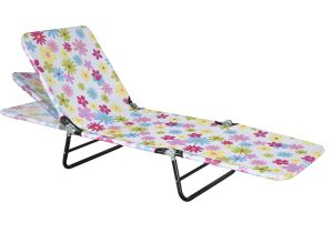 Two or Three -Leg Folding Beach Bed (DS-9006)