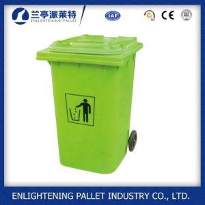 240 Liter Garbage Bin Outdoor Plastic Waste Bin Dustbin with En840 pictures & photos
