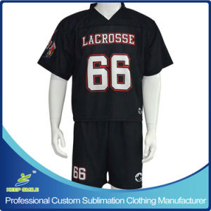 Custom Sublimation Sports Wear for Lacrosse Game pictures & photos
