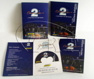 Professional Paper Postcards and Sleeve with DVD CD Packaging Service pictures & photos