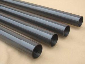 Gloosy Bright Carbon Fiber Tube Pole