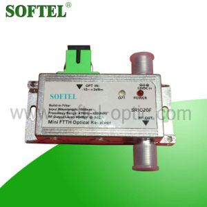 Made in China Indoor FTTH CATV Optical Receiver pictures & photos