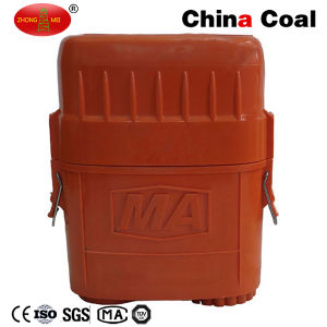 Zyx45 Isolated Compressed Oxygen Self Rescuer Breathing Apparatus Coal Mining Self Rescuer pictures & photos