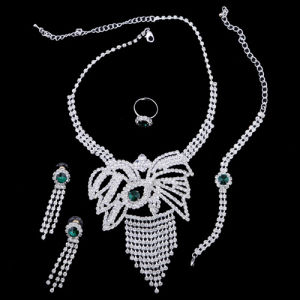 Fashion Wedding Necklace Set (YCN0114)