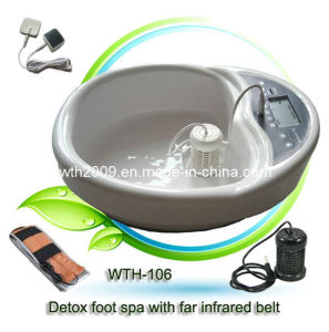 Detox Foot Bath With Big LCD Display and Far Infrared Belt (WTH-106)