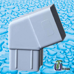 UPVC Square Rainwater System /UPVC Roof Drain pictures & photos