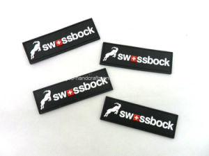 Colorful Custom PVC Rubber 3D Patch for Garment pictures & photos