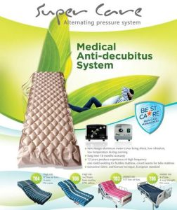 Therapeutic Beds for Prevention of Bed Sores and Pressure Wounds